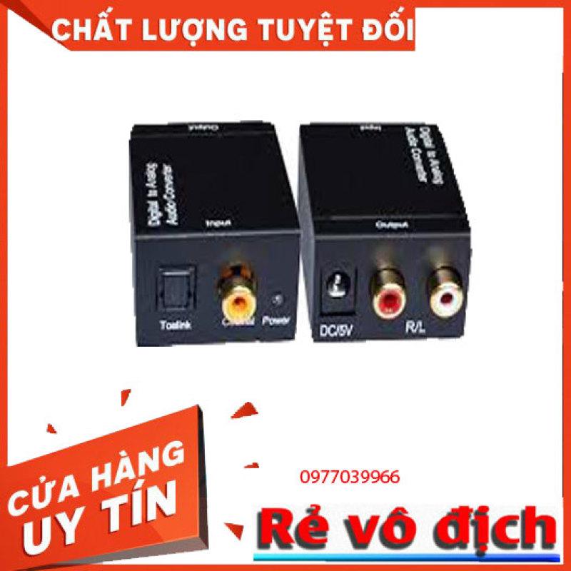 Bảng giá Bộ chuyển âm thanh TV 4K quang optical sang audio AV ra amply + Cáp optical 1.5m