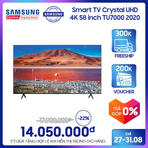 Bảng giá Smart TV Samsung Crystal UHD 4K 58 inch TU7000 2020