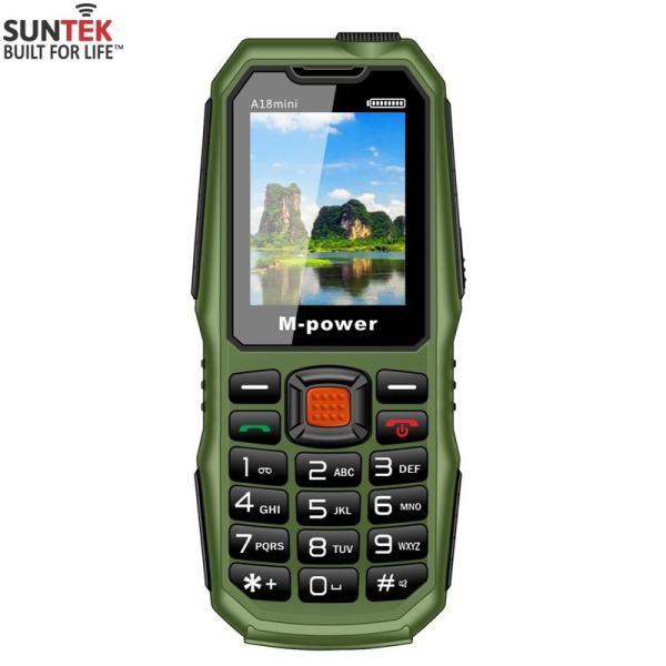 Điện thoại di động M-Power A18mini Kiêm PIN sạc dự phòng | Hàng nhập khẩu chính hãng