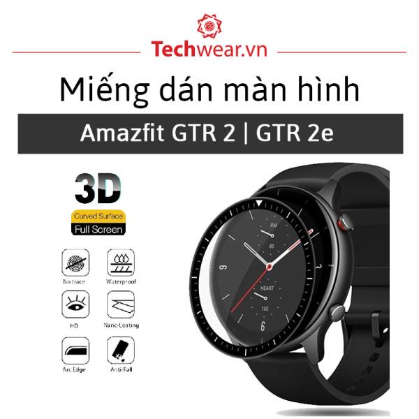 [Combo 3 miếng] dán màn hình 3D full viền TPU cho Huami Amazfit GTR 2   Amazfit GTR 2e [Hàng Xịn - Giá Tốt]