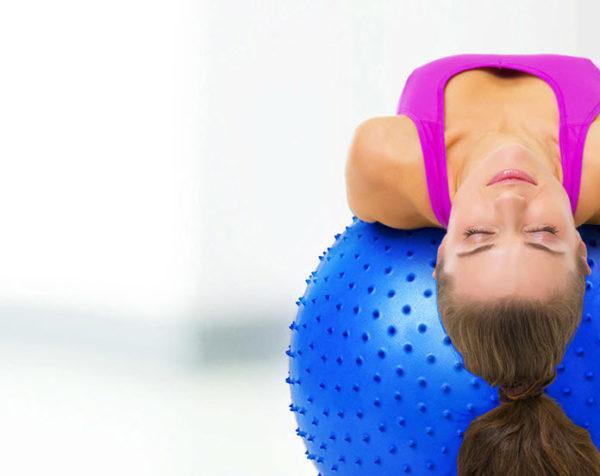 Bảng giá Bóng tập yoga, tập gym với bóng, bóng massage, Bóng Tập Yoga Có Gai 75cm, bảo hành 1 đổi 1 12 tháng