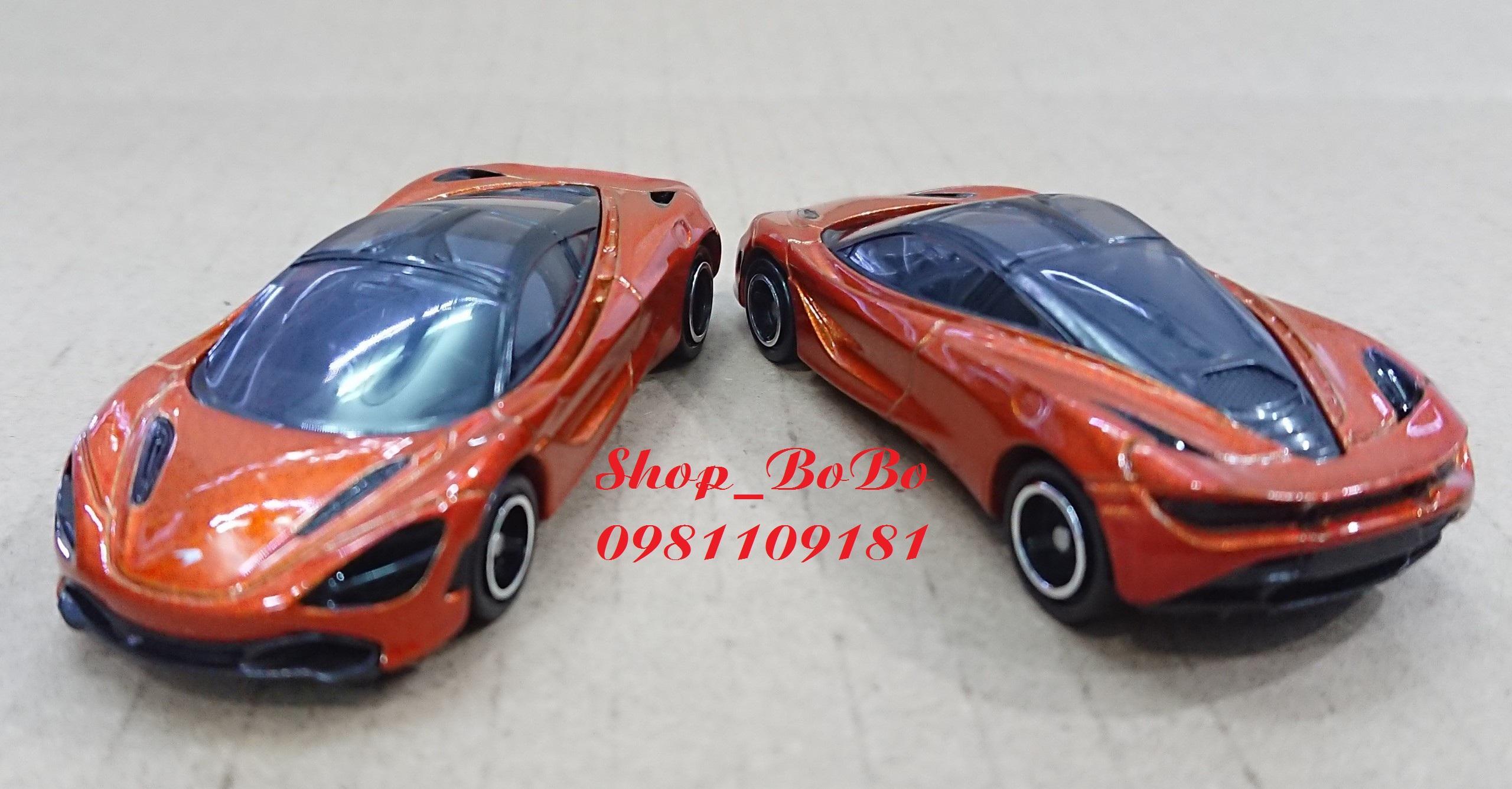 Mã Giảm Giá Xe Mô Hình TOMICA McLaren 720S Màu Cam Giá Rẻ.