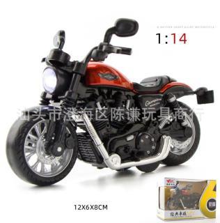 Mô hình Moto kim loại tỷ lệ 1 14 thumbnail