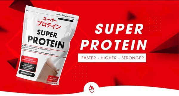Thực phẩm bổ sung dinh dưỡng protein và các khoáng chất Super Protein vị Cacoa 720g