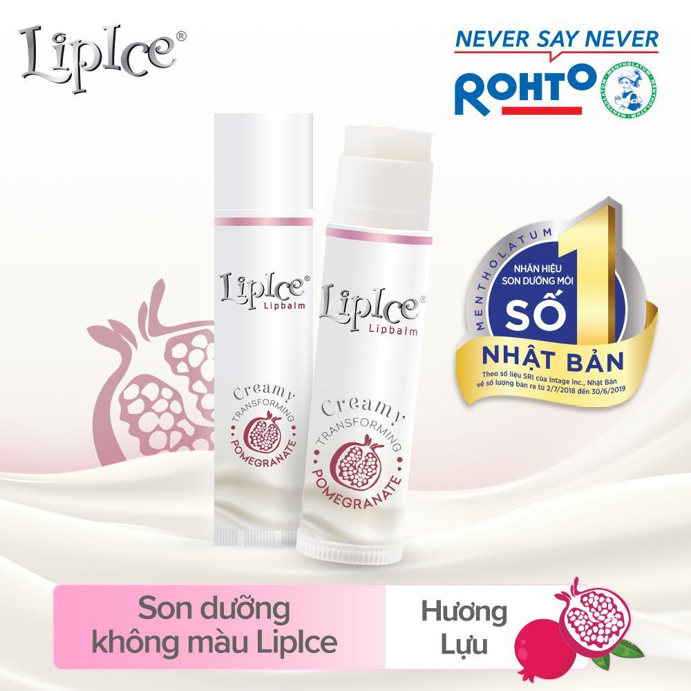 Son dưỡng không màu chuyển kem mịn LipIce Creamy 4.3g tốt nhất