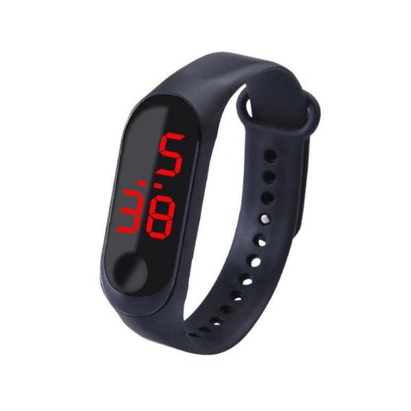 Nơi bán Đồng hồ điện tử màn hình led nam nữ dây silicon thể thao năng động