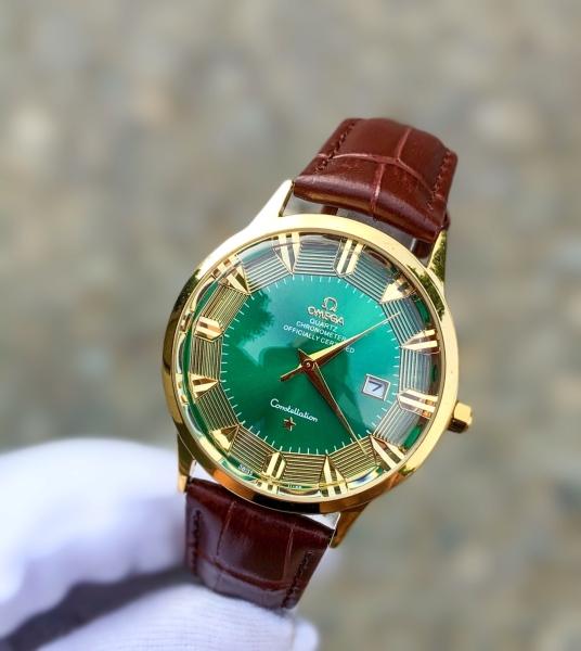 đồng hồ nam OMG bát quái - đồng hồ nam mặt kính lồi cao cấp bán chạy