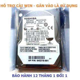 Ổ cứng hdd laptop 2.5 tháo máy bh 12 tháng 500GB,320GB,250GB,160GB,120GB thumbnail