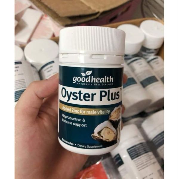 (Mẫu mới ) - Tinh chất hàu Úc Oyster Plus Zinc Goodhealth 60 viên