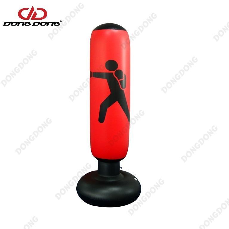 Mã Khuyến Mãi Bao Tập đấm đá Boxing D27 PVC 1.6m BƠM HƠI, Trụ Tập Võ Tự Cân Bằng Cao Cấp - DONGDONG