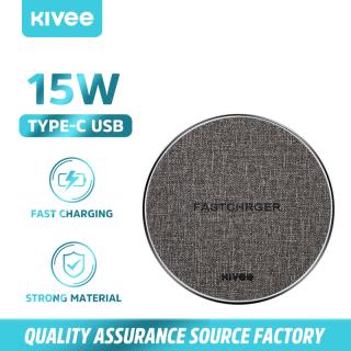 Sạc không dây Kivee 15W thích hợp cho iphone 12, sạc không dây hỗ trợ sạc siêu nhanh thumbnail