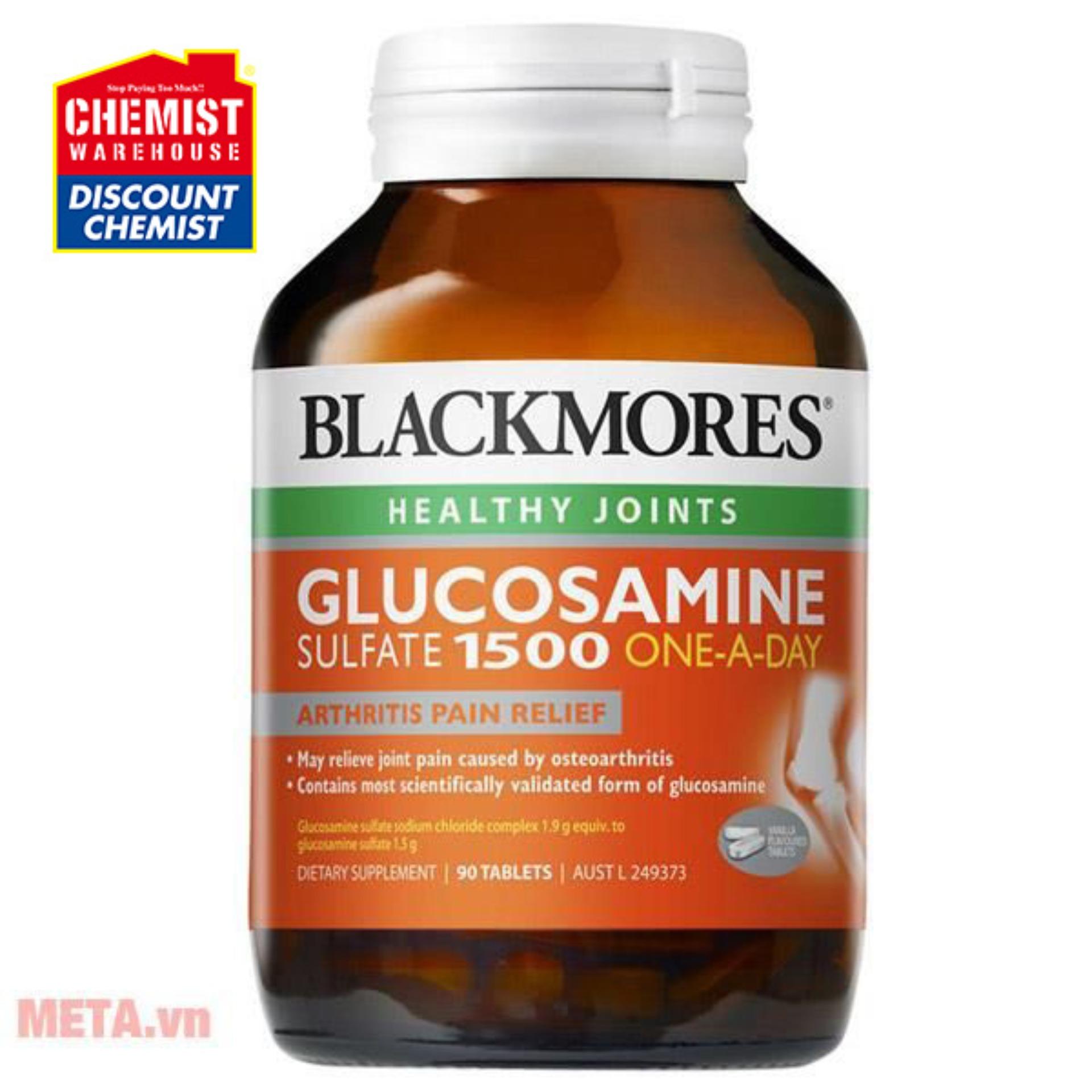 Thực phẩm chức năng bảo vệ khớp Blackmores Glucosamine Sulfate 1500 One-a-day 180 viên