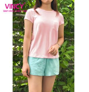 Quần ngắn nữ Vincy thun OQST02091 thumbnail