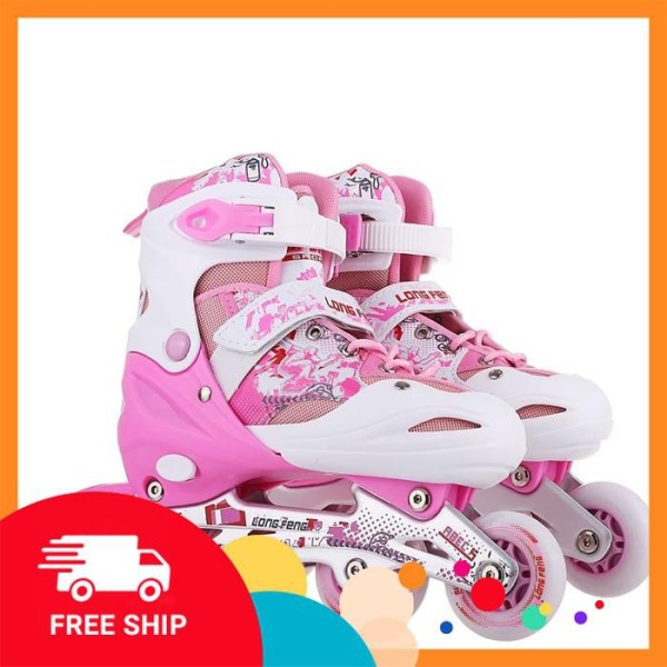 Giá bán Giày trượt patin trẻ em Longfeng 906 size M (Từ 6-10 tuổi)