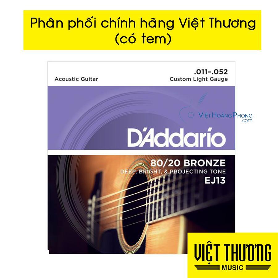 Dây Đàn Guitar Acoustic DAddario EJ10 - HappyLive Shop