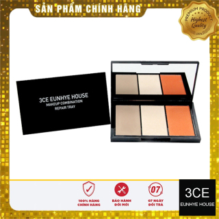 Phấn Má Hồng 3 Ô 3CE Eunhye House Makeup Combination Repair Tray thumbnail