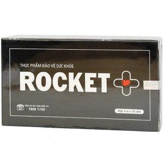 Rocket + Plus Thực Phẩm Bảo Vệ Sức Khỏe Thái Dương - Hộp 45 Viên Uống Mỗi Ngày thumbnail
