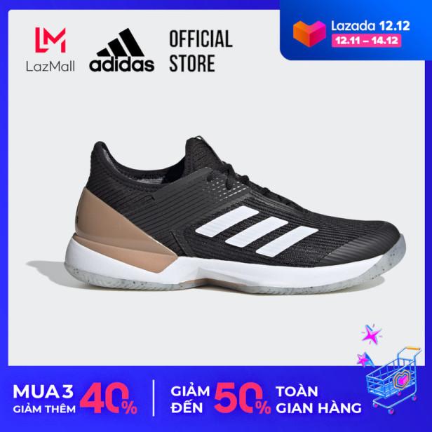 adidas TENNIS Giày sân cứng Ubersonic 3 Nữ Màu đen FU8153 giá rẻ