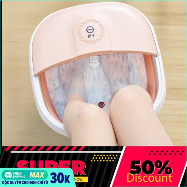 Chậu ngâm chân massage cắm điện gấp gọn, Bồn Ngâm Massage Chân Cắm Điện gấp gọn trừ phong thấp, lưu thông khí huyết-Thùng mát xa chân, thư giãn, thoải mái [ MẪU MỚI 2021 ]