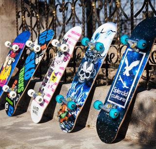Ván Trượt, Ván Trượt Skateboard, Ván Trượt Người Lớn, Trẻ Em, Chất Liêu Gỗ Phong Ép Cao Cấp 8 Lớp Độ Bền Cao , An Toàn Khi Sử Dụng Bảo Hành 12 Tháng thumbnail