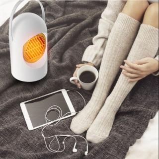 Máy sưởi ấm để bàn mini tiện lợi, Quạt sưởi ấm đa năng tiện lợi làm ấm tay, chân cơ thể nhanh chóng, máy sưởi ấm du lịch công suất 400W phù hợp cho sử dụng gia đình hoặc ở văn phòng thumbnail