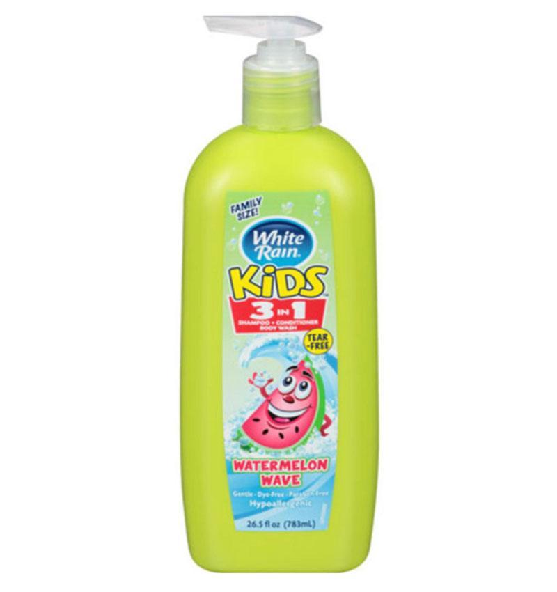 Sữa tắm gội kids 3in1 White Rain Watermelon Wave 783ml - USA