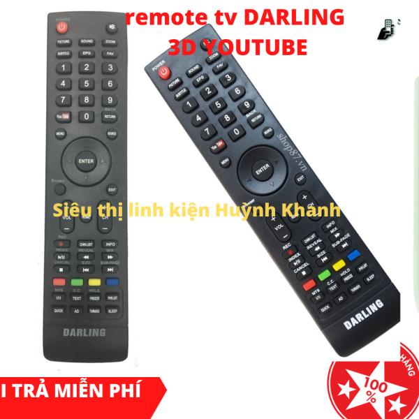 Bảng giá REMOTE TV DARLING 3D YOUTUBE BỀN ĐẸP CHÍNH HÃNG