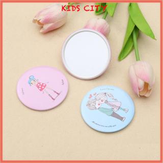 Set 2 Gương trang điểm mini Hàn Quốc - màu ngẫu nhiên thumbnail