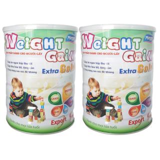 [Combo 2 lon] Sữa tăng cân cho trẻ suy dinh dưỡng Weight Gain Export lon 900g thumbnail