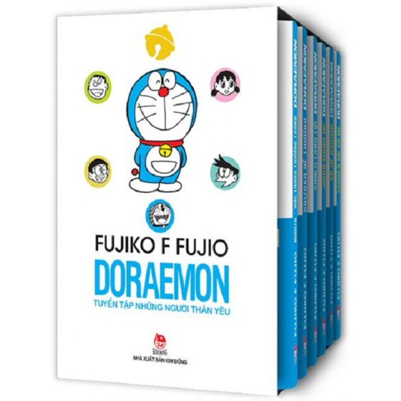 Sách - Boxset Doraemon - Combo Những Người Bạn Thân Yêu Bộ 6 Cuốn (Ấn bản đặc biệt kỉ niệm 50 năm Doraemon ra đời)