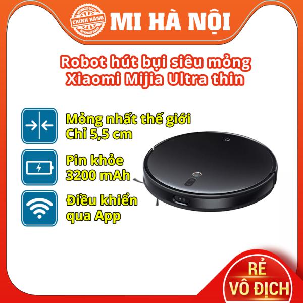 Robot Hút Bụi Lau Nhà Siêu Mỏng Xiaomi Mijia Ultra Slim STYTJ04ZHM