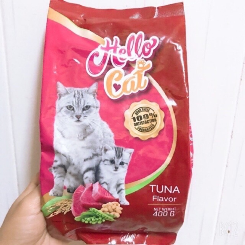 Hạt cho mèo HELLO CAT gói 400g