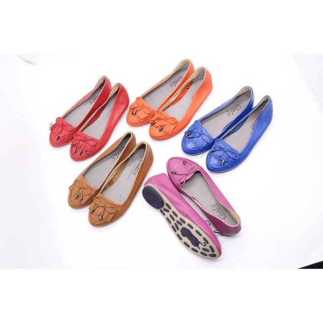 Giày Bệt Nữ Da Bò Siêu Mềm Hàng Hot 2020(Cv) giá rẻ