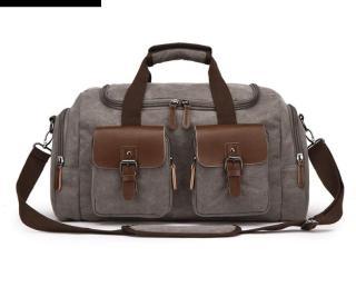 Túi xách du lịch nam cỡ lớn phong cách châu âu , vải canvas cao cấp bền và chắc có Quai đeo vai tiện dụng thumbnail