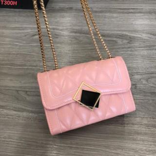 Túi đeo chéo nữ khóa trơn vuông mẫu mới - Túi đeo chéo nữ khóa vuông thời trang thumbnail