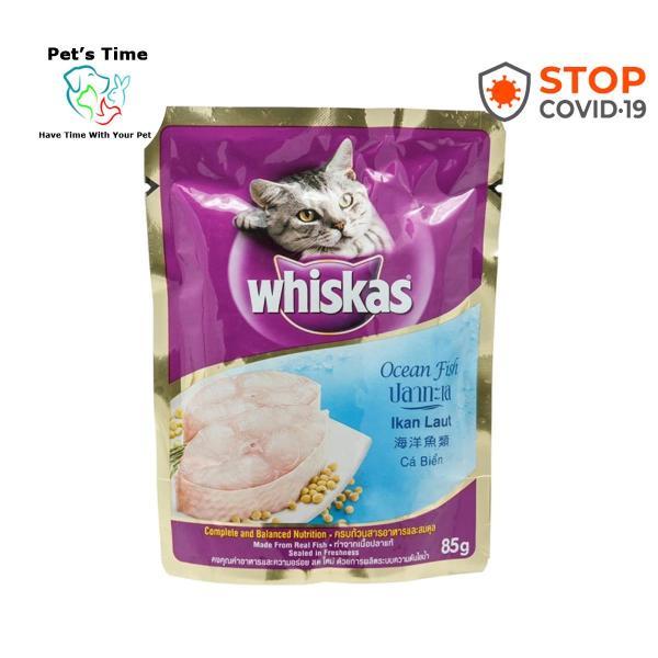 Pate Whiskas cho mèo 85gr cho mèo - Pets Time