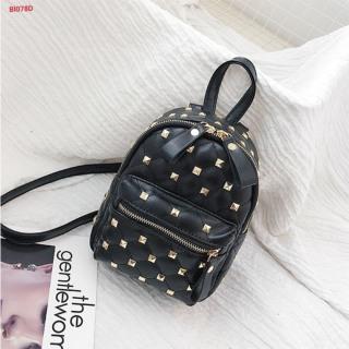 balo tán đinh mini ( màu đen ) -Balo đinh mini balo dinh đen balo thời trang nữ ĐT997 thumbnail