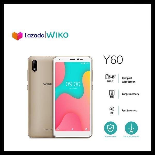 [Flash Sales] Điện thoại Wiko Y60 - Ram 1GB, Rom 16GB, Pin 2500 mAh, Màn hình 5.45, Camera sau 5.0 MP, Camera trước 5.0 MP - Hãng phân phối chính thức