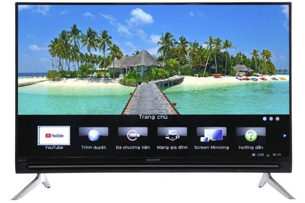 Bảng giá [Trả góp 0%]Smart Tivi Sharp HD 40 inch Full HD LC-40SA5500X