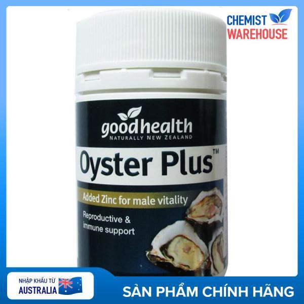 Tinh chất hàu Úc Oyster Plus 60v - Tăng cường sinh lực nam (che tên) - Chemistware tốt nhất