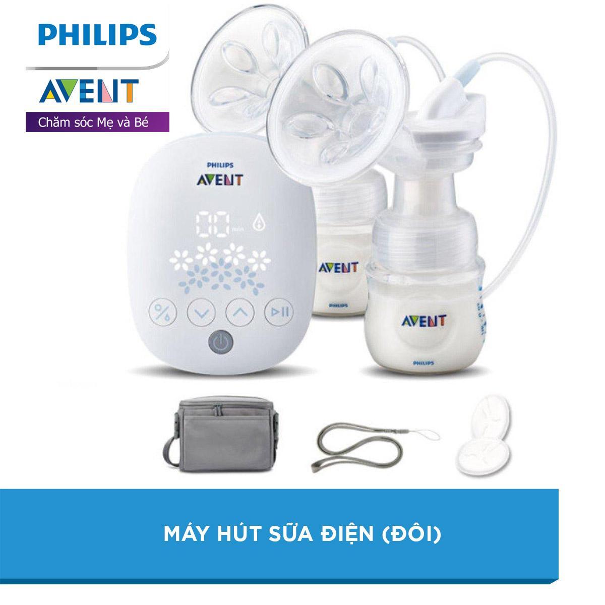 Máy Hút Sữa điện đôi Hiệu Philips Avent (303.01) Siêu Khuyến Mãi