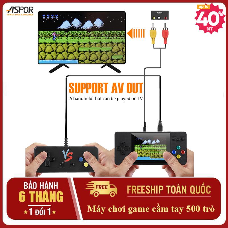 [ Tặng tay cầm sup phụ ] Máy chơi game cầm tay mini 500 trò 2 người chơi Máy game 4 nút cầm tay retro psp giá rẻ - Game điện tử 4 nút đồ họa đẹp hơn Sup 400 in 1-500 in 1( Màu ngẫu nhiên )