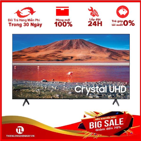Bảng giá TRẢ GÓP 0% - Smart Tivi Samsung 4K 65 inch UA65TU7000 - Bảo hành 2 năm