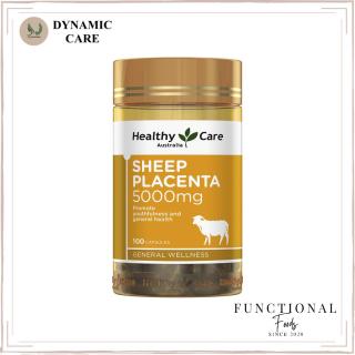 [Hàng chuẩn Úc] Nhau thai cừu Healthy care sheep placenta 5000mg 100 viên của Úc thumbnail