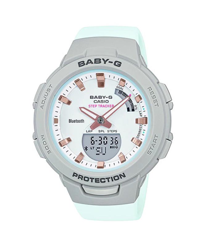 Đồng Hồ Nữ Casio Dây Nhựa BABY-G BSA-B100MC-8ADR Chính Hãng