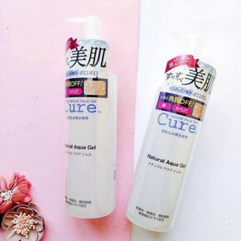 [HÀNG XÁCH TAY] Tẩy tế bào chết Cure Natural Aqua Gel 250ml – Giúp làm sạch sâu làn da của bạn (GIẢM GIÁ CỰC SỐC)
