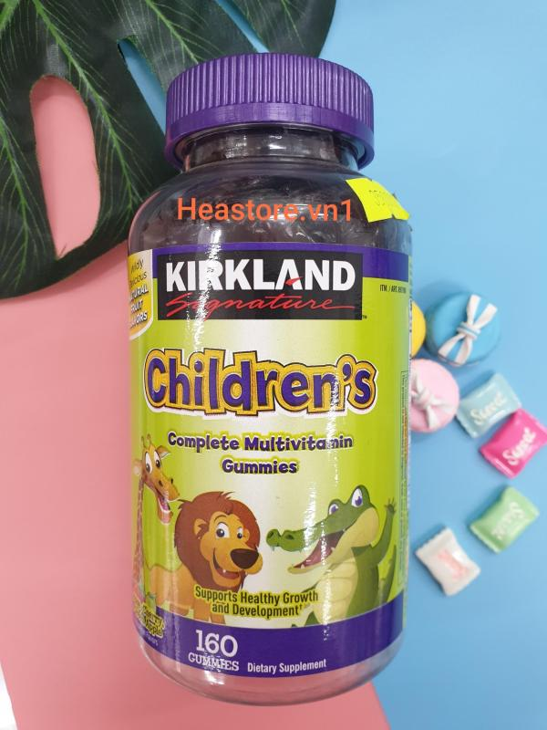 KẸO Gummy Children's kirkland 160 viên cao cấp