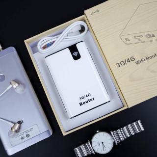[ KHUYẾN MÃI 50% ] Thiết Bị Phát WIFI Từ Sim 3G 4G MIFI WCDMA - Kiêm Sạc Dự Phòng 7800mAh , Thiết Bị Phát WIFI Siêu Khỏe Cung Cấp Cho 5 Thiết Bị Dùng Cùng 1 Lúc , Sản Phẩn Đọc Quyền Thương Hiệu ( BẢO HÀNH UY TÍN 12 THÁNG ) thumbnail