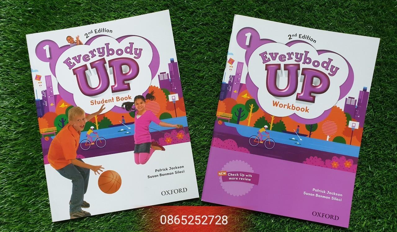 Deal Ưu Đãi Sách Học Tiếng Anh Trẻ Em - Everybody Up 1 ( 2nd Edition) Student Book & Workbook