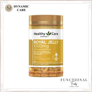 [Hàng chuẩn Úc] Viên uống sữa ong chúa Healthy care royal jelly 1000mg 365 viên của Úc thumbnail